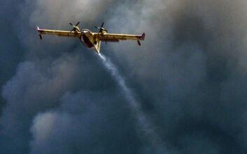 Υπό μερικό έλεγχο η πυρκαγιά στην περιοχή Δαμνόνι Ρεθύμνου