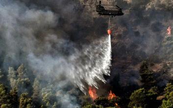 Φωτιά στα Κύθηρα: Δεν υπάρχει ενιαίο μέτωπο - Στάλθηκαν ενισχύσεις για τη νύχτα