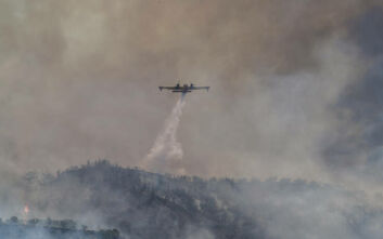 Φωτιά τώρα στην περιοχή Μάνεσης του Δήμου Μεσσήνης