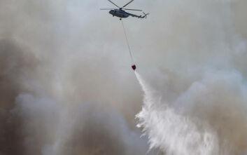 Φωτιά στο Διδυμότειχο - Μάχη της Πυροσβεστικής για να τη σβήσει