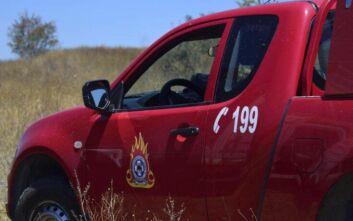 Κρήτη: Όχημα χρηματαποστολών έπεσε από γεφυράκι - Εγκλωβισμένος ο οδηγός