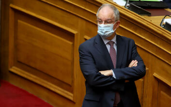 Βουλή: Όλοι με μάσκες στη συζήτηση για το φορολογικό νομοσχέδιο
