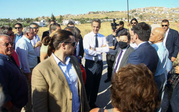 Μητσοτάκης: Θα ξαναφτιάξουμε το Μάτι, πολύ καλύτερο από ό,τι ήταν - Δωρεά 12 εκατ. ευρώ από την Κύπρο