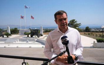 Τσίπρας: Μόνη διαφορά με την Τουρκία η υφαλοκρηπίδα, δεν υπάρχουν «γκρίζες ζώνες» στο Αιγαίο