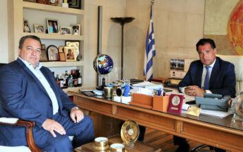 Συνάντηση Γεωργιάδη - Στυλιανίδη για την επαναλειτουργία της Shelman στην Κομοτηνή