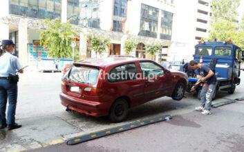 Εντατικοποιούνται οι έλεγχοι για παράνομα σταθμευμένα ΙΧ στο κέντρο της Θεσσαλονίκης - Νέα επιχείρηση «σκούπα»