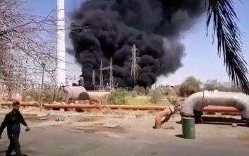 Φωτιά σε σταθμό παραγωγής ηλεκτρικής ενέργειας στο νοτιοδυτικό Ιράν