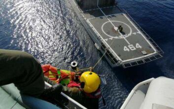 Καρέ - καρέ πώς γίνεται μία «επιχείρηση» έρευνας και διάσωσης μέσα στη θάλασσα