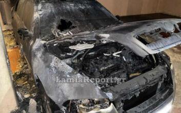 Ψάχνουν τους εμπρηστές που έκαψαν το αυτοκίνητο του πρώην Αρχιφύλακα των φυλακών Δομοκού