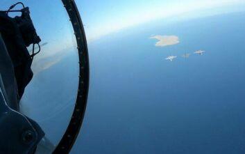 Εντυπωσιακές εικόνες από την άσκηση Ελλάδας - ΗΠΑ: Συμμετέχει και το αεροπλανοφόρο «Αϊζενχάουερ»