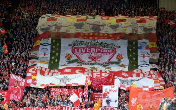 Στο ιστορικό Kop του Άνφιλντ θα γίνει η απονομή του πρωταθλήματος στη Λίβερπουλ
