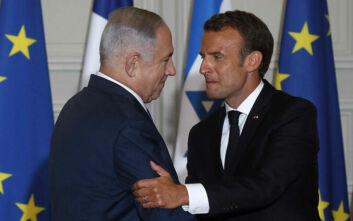 Μακρόν προς Νετανιάχου: Μην προχωρήσετε σε προσάρτηση παλαιστινιακών εδαφών