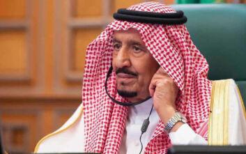 Στο νοσοκομείο για εξετάσεις ο βασιλιάς Σαλμάν της Σαουδικής Αραβίας