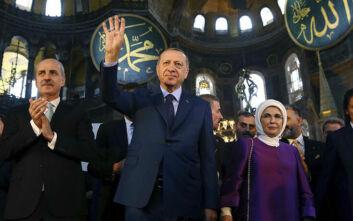 Έκτακτο διάγγελμα Ερντογάν για την Αγιά Σοφιά