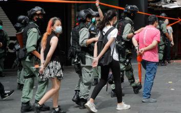 Άρχισαν οι συλλήψεις στο Χονγκ Κονγκ κατά των διαδηλωτών