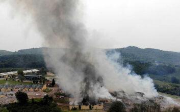 Νεκροί, μία τεράστια φωτιά και εκρήξεις στο εργοστάσιο στην Τουρκία: Κάτοικοι νόμιζαν ότι ήταν σεισμός