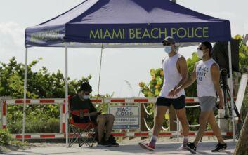 Ρεκόρ κρουσμάτων κορονοϊού στη Φλόριντα των ΗΠΑ μέσα σε ένα 24ωρο