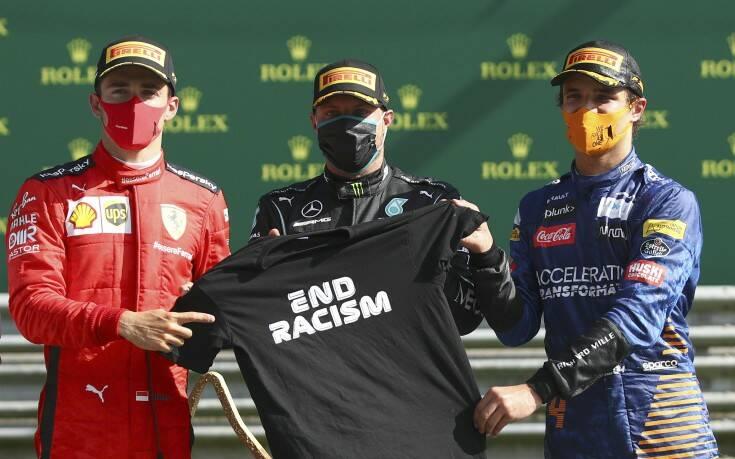 Formula 1: Νίκη Μπότας σε Γκραν Πρι με εννιά εγκαταλείψεις