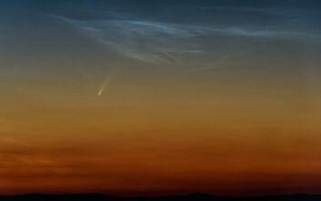 Μαγεύει η εικόνα του κομήτη Neowise πάνω από τα Μετέωρα