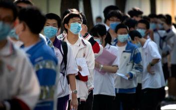 Εξετάσεις με καθυστέρηση, λόγω κορονοϊού, για έντεκα εκατομμύρια μαθητές στην Κίνα