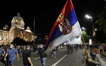 Μετά από τα επεισόδια αποσύρθηκε η απόφαση για lockdown στο Βελιγράδι