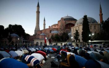 Έρευνα Κάπα Research: Τι πιστεύουν Έλληνες και Τούρκοι για την μετατροπή της Αγίας Σοφίας σε τζαμί