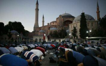 Αγία Σοφία: Ο Ερντογάν θέλει να μεταδίδεται τηλεοπτικά κάθε Παρασκευή η προσευχή