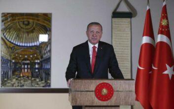 Ερντογάν: Η απόφαση για την Αγία Σοφία αφορά το τουρκικό έθνος και κανέναν άλλο