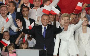 Επίσημη επανεκλογή Ντούντα στις προεδρικές εκλογές της Πολωνίας