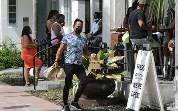 Πάνω από 12.000 νέα κρούσματα κορονοϊού καταγράφηκαν στη Φλόριντα