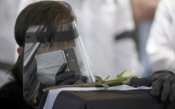 Το Μεξικό ανακοίνωσε 836 νέους θανάτους από κορονοϊό και 7.051 νέα κρούσματα