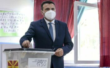 Ισχνό προβάδισμα του κόμματος του Ζάεφ στις εκλογές της Βόρειας Μακεδονίας