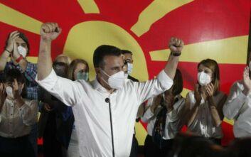 Μεγάλος νικητής των εκλογών στη Βόρεια Μακεδονία ο Ζάεφ