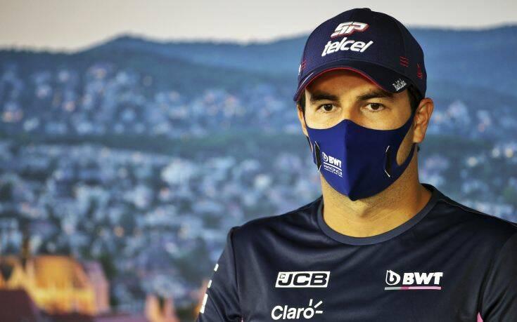 Formula 1: Θετικός τελικά στον κορονοϊό βγήκε ο Σέρχιο Πέρες