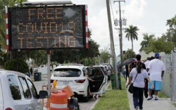 Νέο ρεκόρ θανάτων από κορονοϊό στη Φλόριντα από την έναρξη της πανδημίας