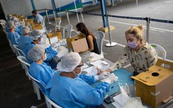 Αισιόδοξα νέα από τον ΠΟΥ για τη Βραζιλία: Η επιδημία του κορονοϊού σταμάτησε να αυξάνεται ραγδαία