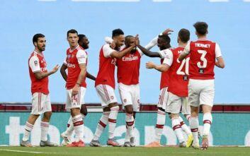 Κύπελλο Αγγλίας: Στον τελικό η Άρσεναλ που νίκησε με 2-0 τη Μάντσεστερ Σίτι