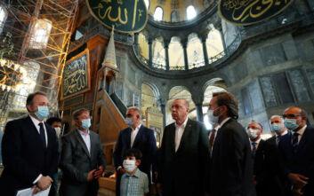 Η τουρκική προεδρία άσκησε έφεση κατά της λειτουργίας Αγίας Σοφίας ως τζαμί