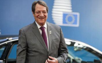 Αναστασιάδης: «Θα ενημερώσει το ΕΛΚ για τις έκνομες ενέργειες της Τουρκίας στην κυπριακή ΑΟΖ»