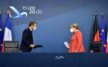 Μακρόν για Ταμείο Ανάκαμψης: Η σημαντικότερη στιγμή από τη δημιουργία του ευρώ