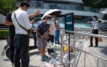 Ακόμα 68 νέα κρούσματα κορονοϊού σε 24 ώρες στην Κίνα - 57 στη Σιντζιάνγκ, 2 στο Πεκίνο