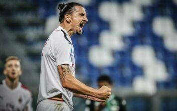Ο Ιμπραΐμοβιτς συνεχίζει στη Μίλαν για ακόμη ένα χρόνο