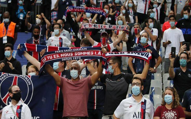 Κυπελλούχος Γαλλίας η Παρί σε ματς με 5.000… μασκοφόρους οπαδούς