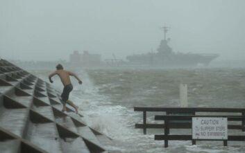 Ο κυκλώνας Χάνα πλήττει με σφοδρότητα το Τέξας και κατευθύνεται προς το Μεξικό