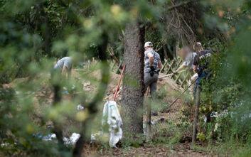 Εξαφάνιση Μαντλίν: Εικόνες από τις έρευνες σε κήπο στο Ανόβερο