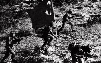 Πρόκληση από το τουρκικό υπουργείο Άμυνας: «Ειρηνευτική επιχείρηση» η εισβολή στην Κύπρο το 1974