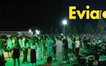 Κρούσμα απίστευτου συνωστισμού σε πανηγύρι στην Εύβοια με 2.000 άτομα