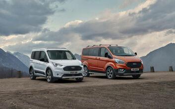 Τα νέα Ford Tourneo και Transit Connect Active απευθύνονται στους λάτρεις της περιπέτειας στην ύπαιθρο