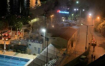 Φωτιά στο δημοτικό κολυμβητήριο της Καστέλλας