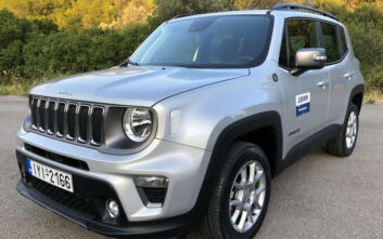 Οδηγούμε το Jeep Renegade 1.3T 180 PS 4x4 AT9